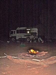 Last Night campfire