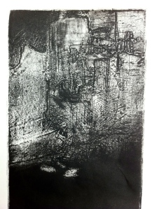 Intaglio untitled 3, 2013, detail