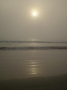 Sun and cloud