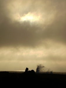 Photograph of seascape at dawn, Forces of Nature 2, from Point Roadknight