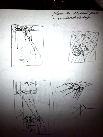 Sketch for Flinders Ranges 3