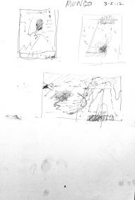 Sketch for Lake Mungo 1