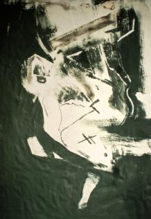 Study on paper, 1992