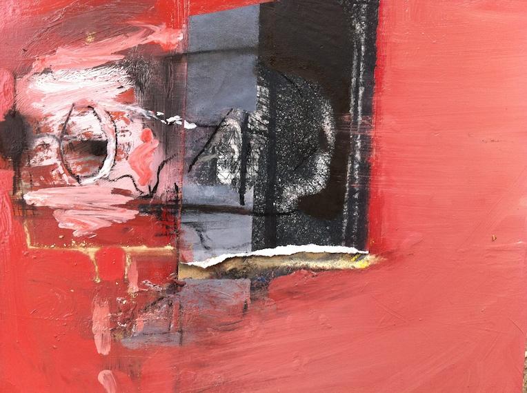 The Artist, 2014, 20x25 cm, mixed media