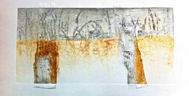 Nicky's collagraph