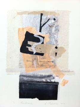 Bedrock, 2015, collage, 30x16 cm