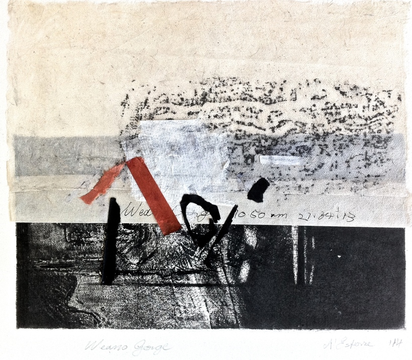 2014, intaglio, frottage and collage, 21x26 cm print, 32x35 cm paper. SKU 1720