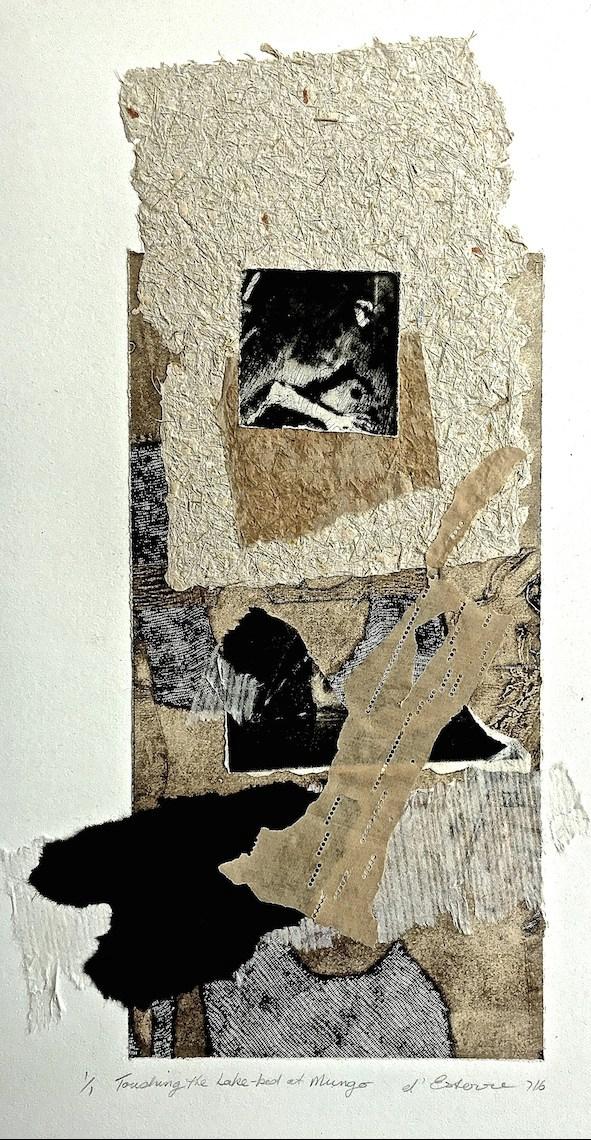 Touching the Lake-bed at Mungo, 1/50, digital